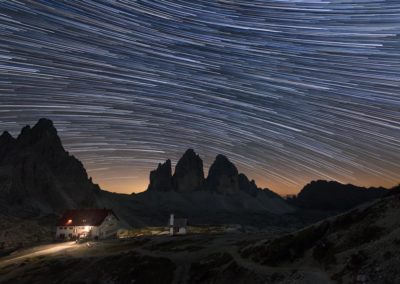 dolomiti nikon school workshop paesaggio notturna via lattea startrail 00028